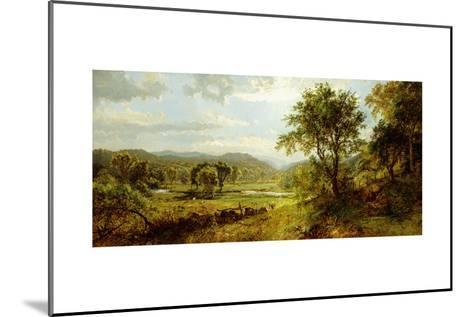 The Saw Mill River-Jasper Francis Cropsey-Mounted Giclee Print