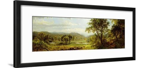The Saw Mill River-Jasper Francis Cropsey-Framed Art Print