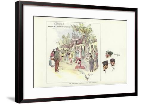 An Artist's Wanderings, in Picardy-Phil May-Framed Art Print