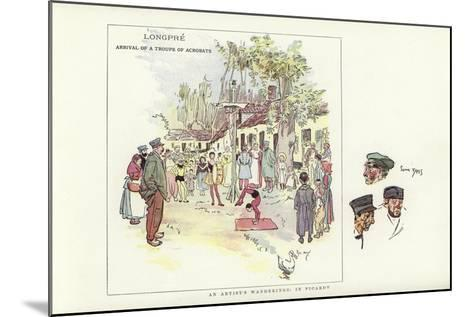 An Artist's Wanderings, in Picardy-Phil May-Mounted Giclee Print