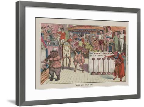"""""""Walk Up! Walk Up!""""--Framed Art Print"""