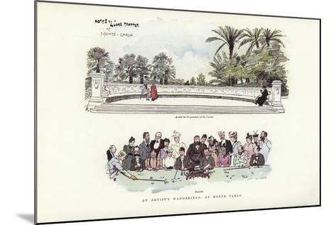 An Artist's Wanderings, at Monte Carlo-Phil May-Mounted Giclee Print