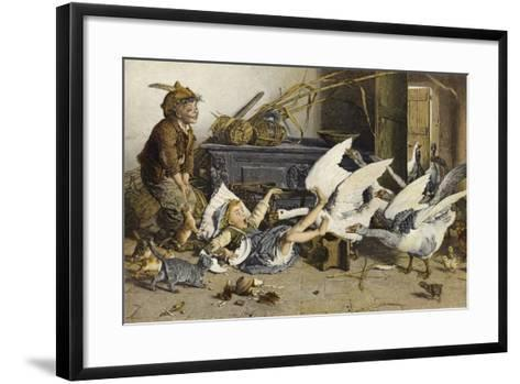 Uninvited Guests-Gaetano Chierici-Framed Art Print