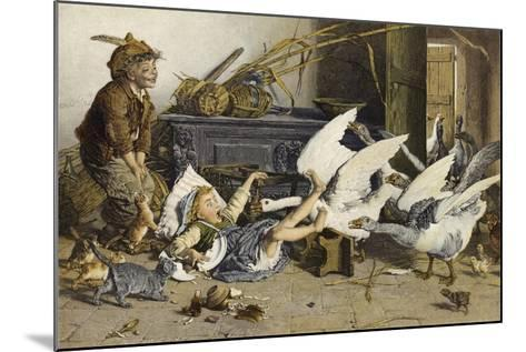 Uninvited Guests-Gaetano Chierici-Mounted Giclee Print