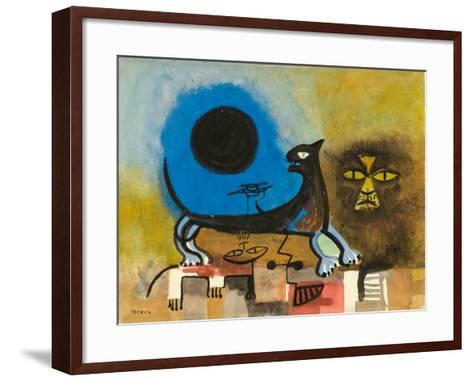 Cats at Night-Anneliese Everts-Framed Art Print