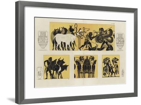 Hercules in Battle with Geryon--Framed Art Print