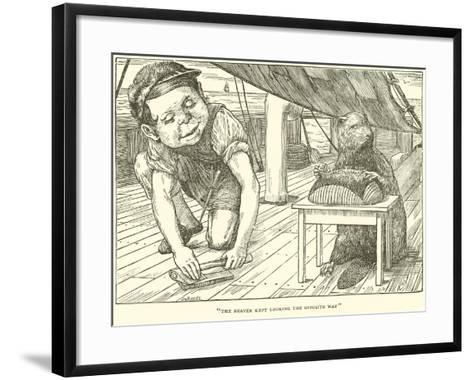 The Hunting of the Snark-Henry Holiday-Framed Art Print