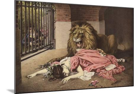 The Lion's Bride--Mounted Giclee Print