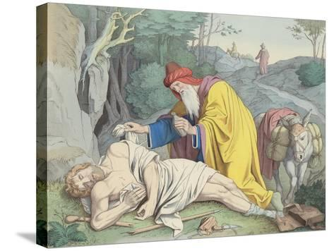 The Good Samaritan--Stretched Canvas Print