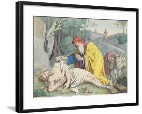 The Good Samaritan--Framed Art Print