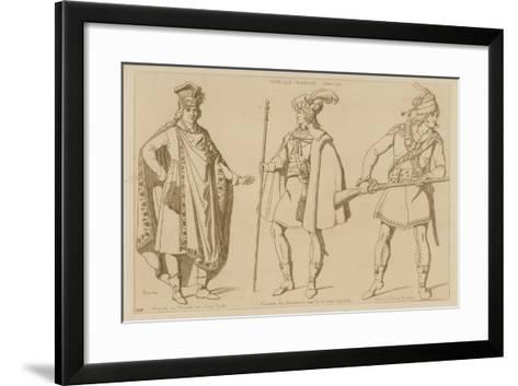 French Republic, 1794-99-Raphael Jacquemin-Framed Art Print