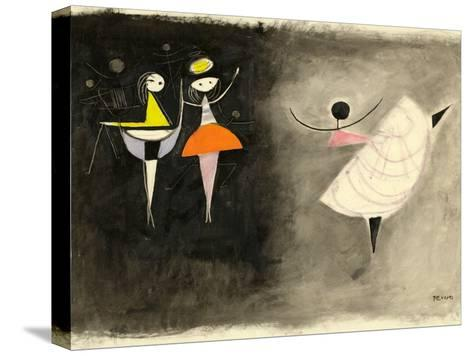 Dancer, C.1950-Anneliese Everts-Stretched Canvas Print