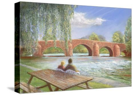 Bridge over Troubled Water, 2002-Anthony Rule-Stretched Canvas Print