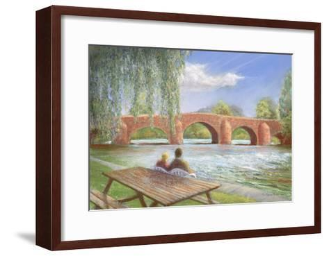 Bridge over Troubled Water, 2002-Anthony Rule-Framed Art Print