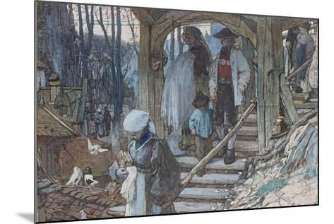 The Christening Gate in Lausanne, C.1861-Matthijs Maris-Mounted Giclee Print