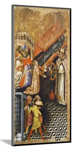 Stories of St Anthony the Abbot-Vitale da Bologna-Mounted Giclee Print