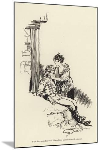 When I Recovered My Wits I Found That Carmen Was Still with Me-René Bull-Mounted Giclee Print
