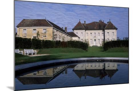View of Chateau De Moncley, 1778-1790-Claude Bertrand-Mounted Giclee Print