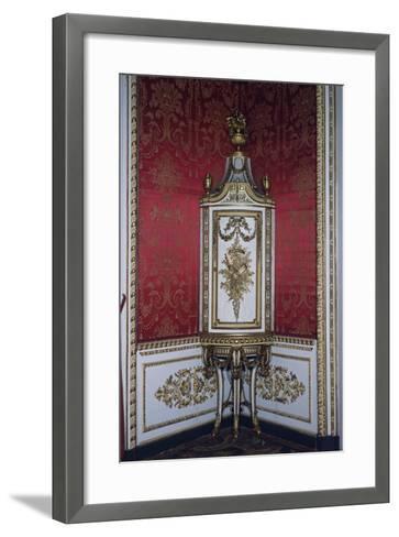 Carved Corner Cupboard-Giuseppe Maria Bonzanigo-Framed Art Print