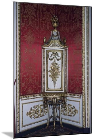 Carved Corner Cupboard-Giuseppe Maria Bonzanigo-Mounted Giclee Print