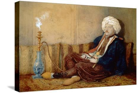 Portrait of Sir Thomas Phillips in Turkish Dress, 1842-43-Richard Dadd-Stretched Canvas Print