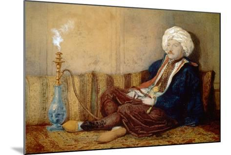 Portrait of Sir Thomas Phillips in Turkish Dress, 1842-43-Richard Dadd-Mounted Giclee Print