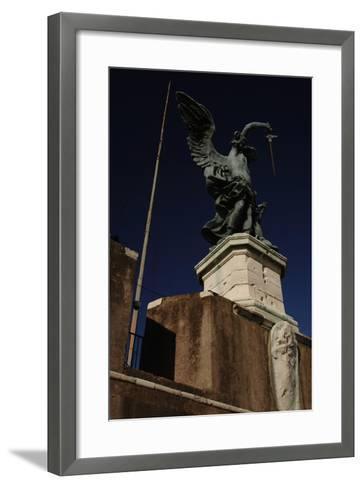 Archangel Michael, 1753-Peter Anton Von Verschaffelt-Framed Art Print