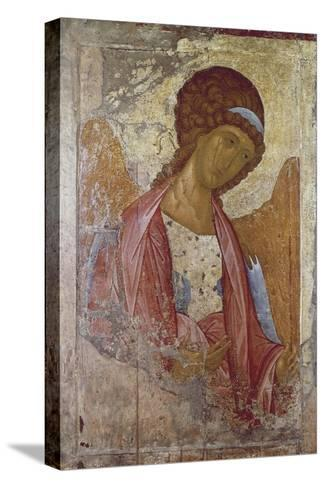 The Archangel Michael-Andrei Rublev or Andrej Rubljov-Stretched Canvas Print