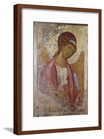 The Archangel Michael-Andrei Rublev or Andrej Rubljov-Framed Art Print