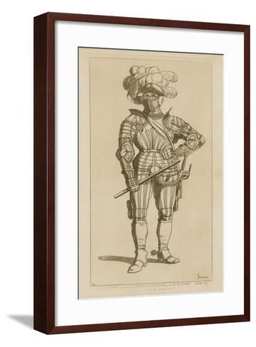 Albert, Count of Wallenstein and General of the Holy Empire, 1629-34-Raphael Jacquemin-Framed Art Print