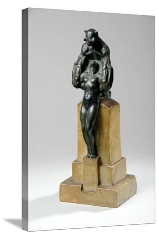 Maquette for a Garden Fountain Group of Nymphs and Satyrs, 1927-Charles Sergeant Jagger-Stretched Canvas Print