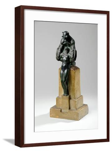 Maquette for a Garden Fountain Group of Nymphs and Satyrs, 1927-Charles Sergeant Jagger-Framed Art Print
