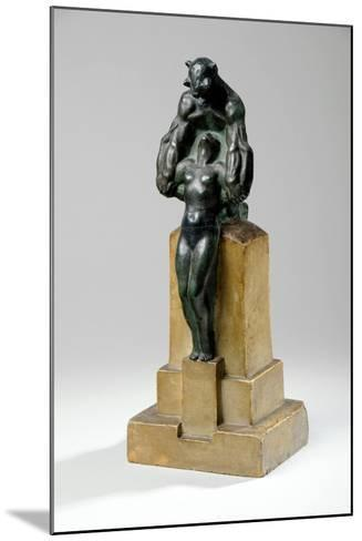 Maquette for a Garden Fountain Group of Nymphs and Satyrs, 1927-Charles Sergeant Jagger-Mounted Giclee Print