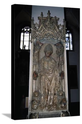 Tomb of Rudolf Von Scherenberg, Ca 1495-Tilman Riemenschneider-Stretched Canvas Print