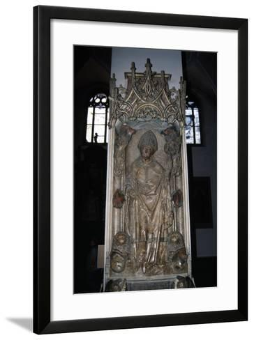 Tomb of Rudolf Von Scherenberg, Ca 1495-Tilman Riemenschneider-Framed Art Print