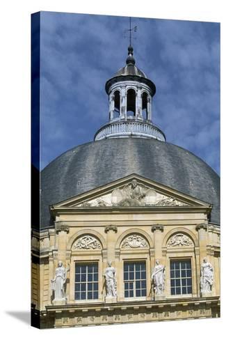 Facade of Chateau of Vaux-Le-Vicomte, 1656-1661-Louis Le Vau-Stretched Canvas Print