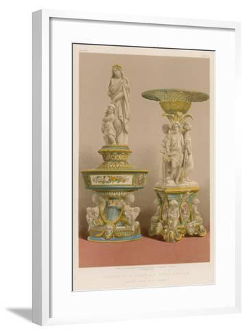 Portion of a Porcelain Table Service by Messrs Goode and Co, London--Framed Art Print