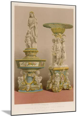 Portion of a Porcelain Table Service by Messrs Goode and Co, London--Mounted Giclee Print