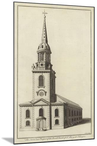 The North East Prospect of the Parish Church of St Mary at Islington--Mounted Giclee Print