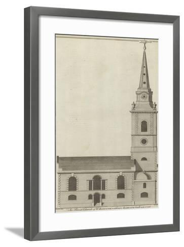 The Parish Church of St Botolph Without Aldgate, London--Framed Art Print