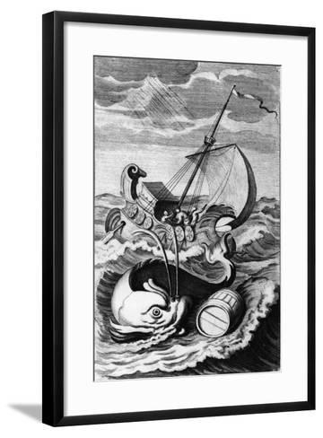 "Illustration Taken from ""A Tale of Tub"", Engraved by John Sturt, 1704--Framed Art Print"