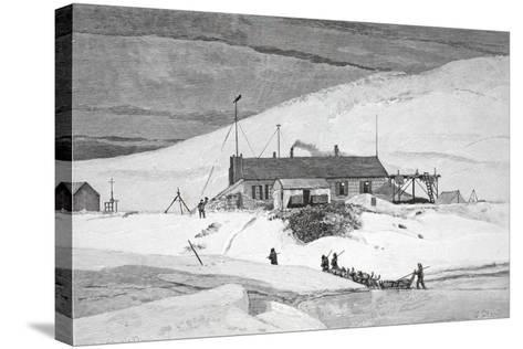 Fort Conger, Frinnell Land, May 20, 1883, Pub. London 1886-J. Steeple Davis-Stretched Canvas Print