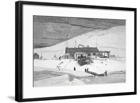 Fort Conger, Frinnell Land, May 20, 1883, Pub. London 1886-J. Steeple Davis-Framed Art Print