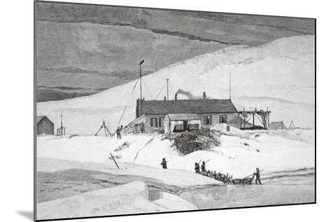 Fort Conger, Frinnell Land, May 20, 1883, Pub. London 1886-J. Steeple Davis-Mounted Giclee Print