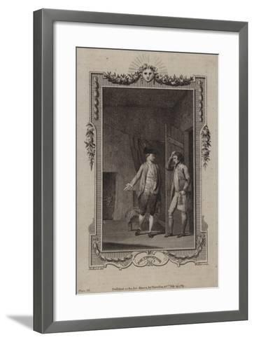 Scene from the Life and Adventures of Joe Thompson--Framed Art Print