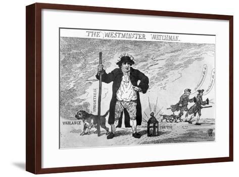 The Westminster Watchman--Framed Art Print