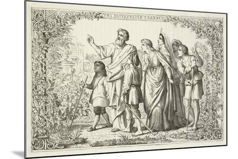 Illustration for the Pilgrim's Progress--Mounted Giclee Print