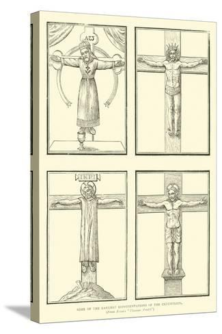 Some of the Earliest Representations of the Crucifixion--Stretched Canvas Print