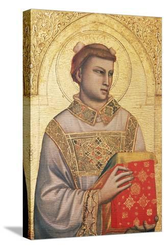 Polyptych of St Stephen, 1330 - Ca1335-Giotto di Bondone-Stretched Canvas Print