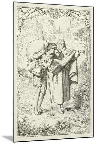 Illustration for the Pilgrim's Progress-Henry Courtney Selous-Mounted Giclee Print